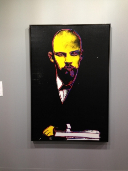 Andy Warhol's Lenin (1986)